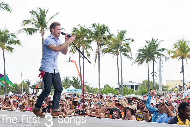 Frankie Ballard performs onstage during The Tortuga Music Festival in Fort Lauderdale, Florida.