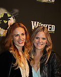 Katie Rose Clarke & Teal Wicks - The blockbuster musical, Wicked, celebrates its 10th Anniversary on Broadway, a milestone achieved by only ten other Broadway productions in history on October 30, 2013 at the Gershwin Theatre, New York City followed by the red carpet at the Edison Ballroom with current, alumni and creative team.  (Photo by Sue Coflin/Max Photos)