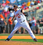 14 March 2009: Baltimore Orioles' pitcher Bob McCrory in action during a Spring Training game against the Boston Red Sox at Fort Lauderdale Stadium in Fort Lauderdale, Florida. The Orioles defeated the Red Sox 9-8 in the Grapefruit League matchup. Mandatory Photo Credit: Ed Wolfstein Photo