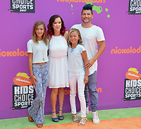 Cast of Smelly Belly TV at Nickelodeon's Kids' Choice Sports 2017 at UCLA's Pauley Pavilion. Los Angeles, USA 13 July  2017<br /> Picture: Paul Smith/Featureflash/SilverHub 0208 004 5359 sales@silverhubmedia.com
