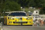 09 August 2008: The Corvette Racing C6.R, driven by Olivier Beretta (MCO) and  Oliver Gavin (XEN), at the Generac 500  at Road America, Elkhart Lake, Wisconsin, USA.