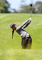 Tara Raj during the Charles Tour Augusta Funds Management Ngamotu Classic, Ngamotu Golf Course, New Plymouth, New Zealand, Thursday 12 October 2017.  Photo: Simon Watts/www.bwmedia.co.nz