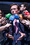 Mayor of Madrid Jose Luis Martinez Almeida after the General Council of Partido Popular. July 29, 2019. (ALTERPHOTOS/Francis González)