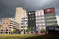 Nederland - Amsterdam - 2019. Amsterdam Noord.  ROC Amsterdam. Bredero MAVO.  Foto Berlinda van Dam / Hollandse Hoogte.