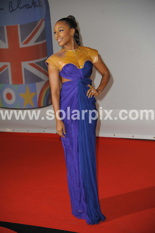 **ALL ROUND PICTURES FROM SOLARPIX.COM**                                             **WORLDWIDE SYNDICATION RIGHTS**                                                                                  Stars arrive at London's O2 Arena for the 2012 Brit Awards..This pic:   Alexandra Burke                     .JOB REF:    14495   MSR     DATE:   22.02.12                                                         **MUST CREDIT SOLARPIX.COM OR DOUBLE FEE WILL BE CHARGED**                                                                      **MUST AGREE FEE BEFORE ONLINE USAGE**                               **CALL US ON: +34 952 811 768 or LOW RATE FROM UK 0844 617 7637**