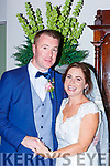 Louise Curran, Waterville daughter of Colette and the late Nealie, and Stephen Curran, Caherciveen, son of Frank and Sadie who were married in St Finians church Waterville on Saturday, Fr Fincane officiated at the ceremony, best man was keith Curran, groomsmen were Aidan O'Sullivan, Niall O'Driscoll, and Austin Consable, bridesmaids were aoife Curran, karen O'Sullivan, Elaine, Aoife and Sinead Curran, flowergirl was Laura O'Sullivan, pageboy was the couples son Killian Curran, the reception was held in the Great Southern Hotel and the couple will reside in Caherciveen