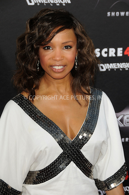 WWW.ACEPIXS.COM . . . . . ....April 11 2011, Los Angeles....Actress Elise Neal arriving at the premiere of 'Scream 4' at Grauman's Chinese Theatre on April 11, 2011 in Hollywood, CA.....Please byline: PETER WEST - ACEPIXS.COM....Ace Pictures, Inc:  ..(212) 243-8787 or (646) 679 0430..e-mail: picturedesk@acepixs.com..web: http://www.acepixs.com