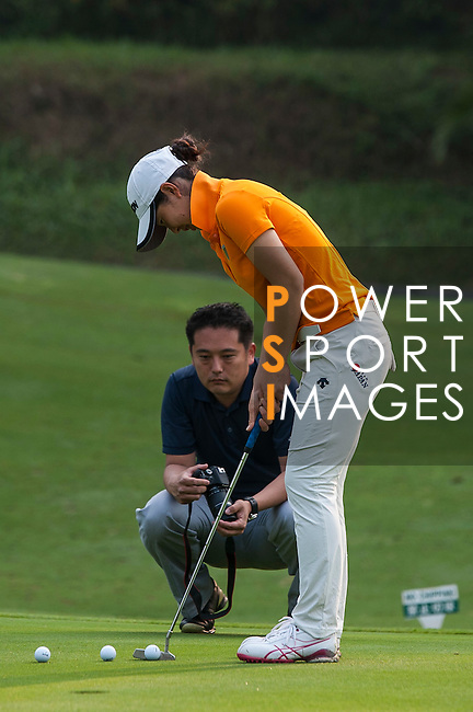 Players in action on day 3 of the 9th Faldo Series Asia Grand Final 2014 golf tournament on March 20, 2015 at Faldo course in Mid Valley Golf Club in Shenzhen, China. Photo by Xaume Olleros / Power Sport Images