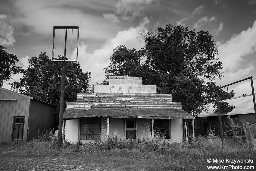 Abandoned Cafe in May, OK