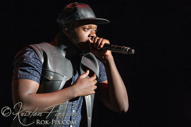 Pentatonix performs at Xfinity Center, Mansfield, Massachusetts July 12 2015