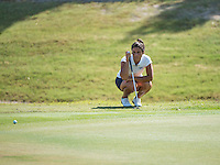 April 12, 2016 - Reunion, FL, U.S: \  during final round action of A-Sun Women's Golf Championship on the Watson course at Reunion Resort in Reunion, FL