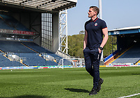 Bolton Wanderers' Ben Williams pictured before the match<br /> <br /> Photographer Andrew Kearns/CameraSport<br /> <br /> The EFL Sky Bet Championship - Blackburn Rovers v Bolton Wanderers - Monday 22nd April 2019 - Ewood Park - Blackburn<br /> <br /> World Copyright © 2019 CameraSport. All rights reserved. 43 Linden Ave. Countesthorpe. Leicester. England. LE8 5PG - Tel: +44 (0) 116 277 4147 - admin@camerasport.com - www.camerasport.com