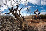 Teams make their way over the mountain pass above Worcester during the (time trial) stage five of the 2010 Absa Cape Epic Mountain Bike stage held in Worcester in the Western Cape, South Africa on the 25 March 2010.Photo by  Karin Schermbrucker/SPORTZPICS