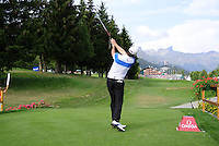 Brett Rumford Swing Omega European Masters 2013