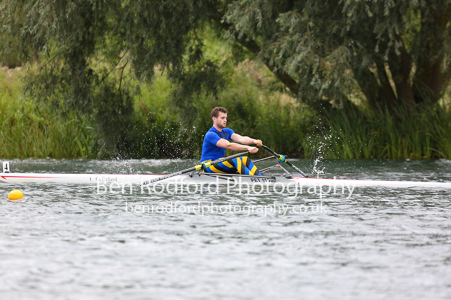 Race: 62  1x (Band 1)  Rep 1<br /> <br /> Peterborough Summer Regatta 2018 - Sunday<br /> <br /> To purchase this photo, or to see pricing information for Prints and Downloads, click the blue 'Add to Cart' button at the top-right of the page.