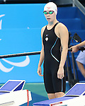 Rio de Janeiro-9/9/2016-Sarah Mehain swims in the women's 50m fr finals at the 2016 Paralympic Games in Rio. Photo Scott Grant/Canadian Paralympic Committee
