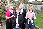Gearóid Conlon with his family at his Confirmation in Dunleer Church...Photo NEWSFILE/Jenny Matthews.(Photo credit should read Jenny Matthews/NEWSFILE)....This Picture has been sent you under the condtions enclosed by:.Newsfile Ltd..The Studio,.Millmount Abbey,.Drogheda,.Co Meath..Ireland..Tel: +353(0)41-9871240.Fax: +353(0)41-9871260.GSM: +353(0)86-2500958.email: pictures@newsfile.ie.www.newsfile.ie.FTP: 193.120.102.198.