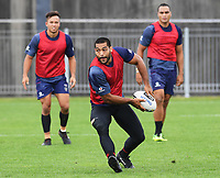 Adam Blair, <br /> Vodafone Warriors training session. Mt Smart Stadium, Auckland, New Zealand. NRL Rugby League. Tuesday 13 March 2018 &copy; Copyright photo: Andrew Cornaga / www.photosport.nz