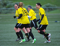 140720 Women's Football - Island Bay Sharkettes v Brooklyn Northern United First Division