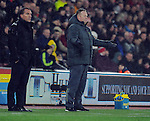 Southampton Manager Ronald Koeman issues instructions - Barclays Premier League - Southampton vs Liverpool - St Mary's Stadium - Southampton - England - 22nd February 2015 - Pic Robin Parker/Sportimage