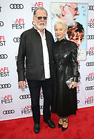 12 November 2017 - Hollywood, California - Taylor Hackford, Helen Mirren. &quot;The Leisure Seeker&quot; AFI FEST 2017 Screening held at at the Egyptian Theatre.<br /> CAP/ADM/FS<br /> &copy;FS/ADM/Capital Pictures