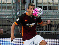 Lucas Digne during italian serie a soccer match between Frosinone e Roma