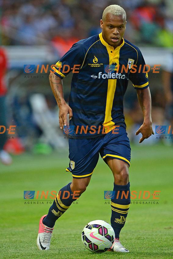 Jonathan Biabiany Parma<br /> Parma 28-07-2014 Stadio Tardini - Football Calcio Amichevole. Pre season training. Parma - Monaco Foto Giuseppe Celeste / Insidefoto
