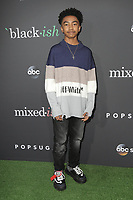 "LOS ANGELES - SEP 17:  Miles Brown at the POPSUGAR X ABC ""Embrace Your Ish"" Event at the Goya Studios on September 17, 2019 in Los Angeles, CA"