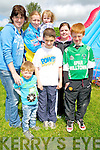 Pictured at the Milltown Listry Ceomhaltas fun day held in The Killarney Country Club, Faha on Sunday were Tracey Foley, Christine Foley, Fiona Curran, Donna Foley, Gavin Foley, Jason Dingham and Martin Foley, Milltown.