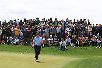 Paul Dunne (IRL) on the 4th green during Round 4 of the Open de Espana 2018 at Centro Nacional de Golf on Sunday 15th April 2018.<br /> Picture:  Thos Caffrey / www.golffile.ie<br /> <br /> All photo usage must carry mandatory copyright credit (&copy; Golffile | Thos Caffrey)