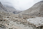 "INDIA, GANGOTRY JUNE 2015;<br /> Gangotri Glacier is one of the primary sources of the Ganges and it is one of the largest in the Himalayas with an estimated volume of over 27 cubic kilometers. The terminus of the Gangotri Glacier is said to resemble a cow's mouth, and the place is called Gomukh.<br /> The Gangotri glacier is a traditional Hindu pilgrimage site. Devout Hindus consider bathing in the icy waters near Gangotri town to be a holy ritual, and many made the trek to Gomukh. The Gangotri glacier is rapidly disintegrating, states the latest observation of a team from the Almora-based G.B. Pant Institute of Himalayan Environment and Development.<br /> The team of the institute, which has been monitoring the Himalayan glaciers, particularly the Gangotri, since 1999, visited the glacier between June and October, this year. Kireet Kumar, Scientist in the Glacial Study Centre of the institute, said, ""Our team has been observing disintegration in the snout of the Gangotri glacier for around three year now ""<br /> A 2008 research report stated: "" The Gangotri glacier is retreating like other glaciers in the Himalayas and its volume and size are shrinking as well ""<br /> The glacier has retreated more than 1,500 meters in the last 70 years.<br />