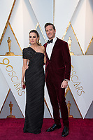 Elizabeth Chambers and Armie Hammer arrive on the red carpet of The 90th Oscars&reg; at the Dolby&reg; Theatre in Hollywood, CA on Sunday, March 4, 2018.<br /> *Editorial Use Only*<br /> CAP/PLF/AMPAS<br /> Supplied by Capital Pictures