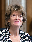 United States Senator Lisa Murkowski (Republican of Alaska), Chairman, US Senate Committee on Energy and Natural Resources, attends a hearing of the committee on Tuesday, October 6, 2015.<br /> Credit: Ron Sachs / CNP