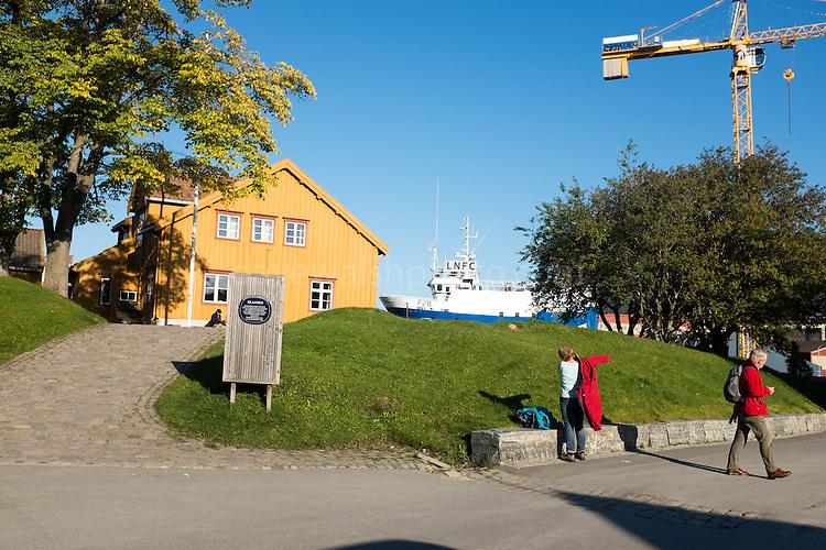 Polar Museum, Tromso, Norway, run by the University of Tromso.