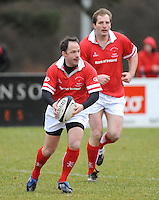 David Humphreys in action in the charity match between the Ulster 1999 XV and a Wooden Spoon Select XV at Shaw's Bridge Belfast.  Mandatory Credit - Photo : Oliver McVeigh