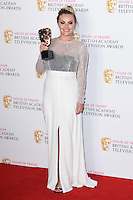 Chanel Cresswell<br /> in the winners room at the 2016 BAFTA TV Awards, Royal Festival Hall, London<br /> <br /> <br /> &copy;Ash Knotek  D3115 8/05/2016