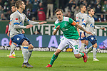 08.03.2019, Weser Stadion, Bremen, GER, 1.FBL, Werder Bremen vs FC Schalke 04, <br /> <br /> DFL REGULATIONS PROHIBIT ANY USE OF PHOTOGRAPHS AS IMAGE SEQUENCES AND/OR QUASI-VIDEO.<br /> <br />  im Bild<br /> <br /> Max Kruse (Werder Bremen #10) elfmeter jubel<br /> <br /> Foto &copy; nordphoto / Kokenge