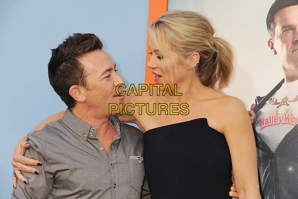 WESTWOOD, CA - JULY 27: Actors David Faustino ; Christina Applegate arrives at the Premiere Of Warner Bros. 'Vacation' at Regency Village Theatre on July 27, 2015 in Westwood, California.<br /> CAP/ROT/TM<br /> &copy;Tony Michaels/Roth Stock/Capital Pictures