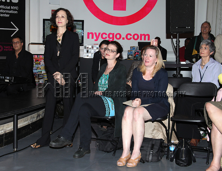 Bebe Neuwirth, Kate Shindle & Kathleen Marshall.attending the Broadway League and Coalition of Broadway Unions and Guilds Presentation of The 3rd Annual Broadway Salutes in New York City.