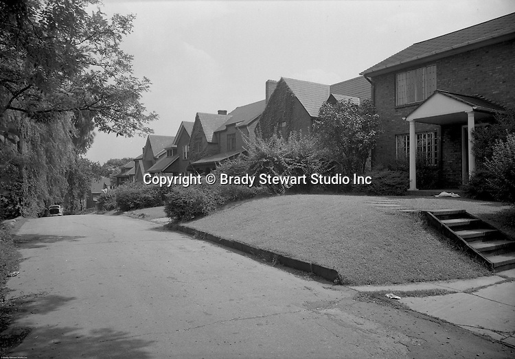 Point Breeze PA:  Location photography of S Richland Lane and Graymore Road for Reed, Smith, Shaw and McClay Attorneys - 1948