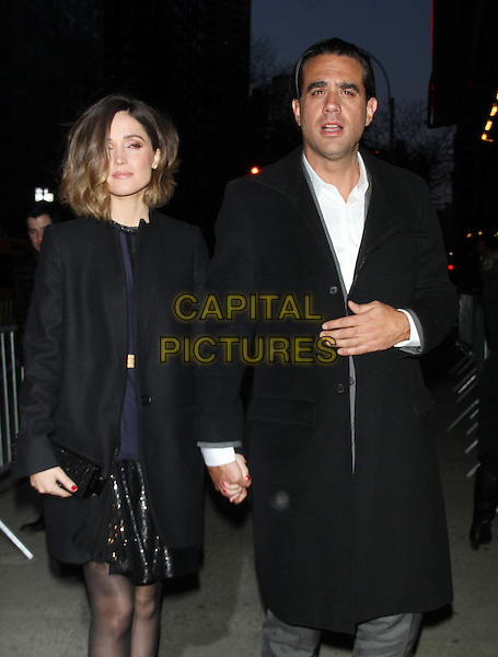 NEW YORK, NY - MARCH 18:  Rose Byrne, Bobby Cannavale at the New York premiere of Bleecker Street's Danny Collins at the AMC Lincoln Square in New York City on March 18, 2015.