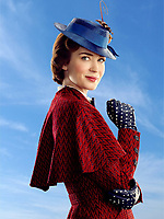 Mary Poppins Returns (2018) <br /> Emily Blunt<br /> *Filmstill - Editorial Use Only*<br /> CAP/KFS<br /> Image supplied by Capital Pictures
