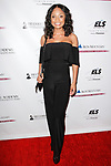 Actress Tyra Colar attends the Recording Academy Producers & Engineers Wing event honoring Alicia Keys and Swizz Beatz at 30 Rockefeller Plaza in New York City, during Grammy Week on January 25, 2018.