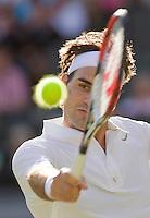 25-6-08, England, Wimbledon, Tennis,  Roger Federer