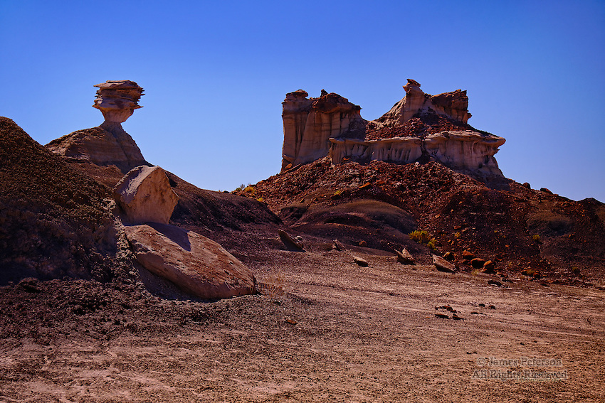 Balanced Rock, Bisti Badlands Wilderness, New Mexico