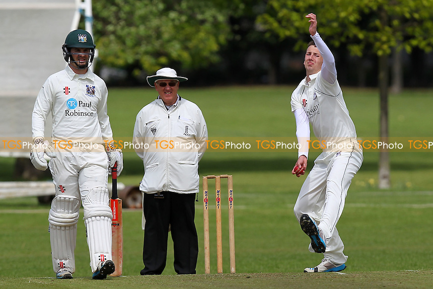 Upminster CC vs Southend-on-Sea & EMT CC (batting) - Essex Cricket League - 09/05/15 - MANDATORY CREDIT: Gavin Ellis/TGSPHOTO - Self billing applies where appropriate - 0845 094 6026 - contact@tgsphoto.co.uk - NO UNPAID USE