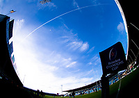 A general view of Sandy Park, home of Exeter Chiefs<br /> <br /> Photographer Bob Bradford/CameraSport<br /> <br /> European Rugby Heineken Champions Cup Pool 2 - Exeter Chiefs v Castres - Sunday 13th January 2019 - Sandy Park - Exeter<br /> <br /> World Copyright © 2019 CameraSport. All rights reserved. 43 Linden Ave. Countesthorpe. Leicester. England. LE8 5PG - Tel: +44 (0) 116 277 4147 - admin@camerasport.com - www.camerasport.com
