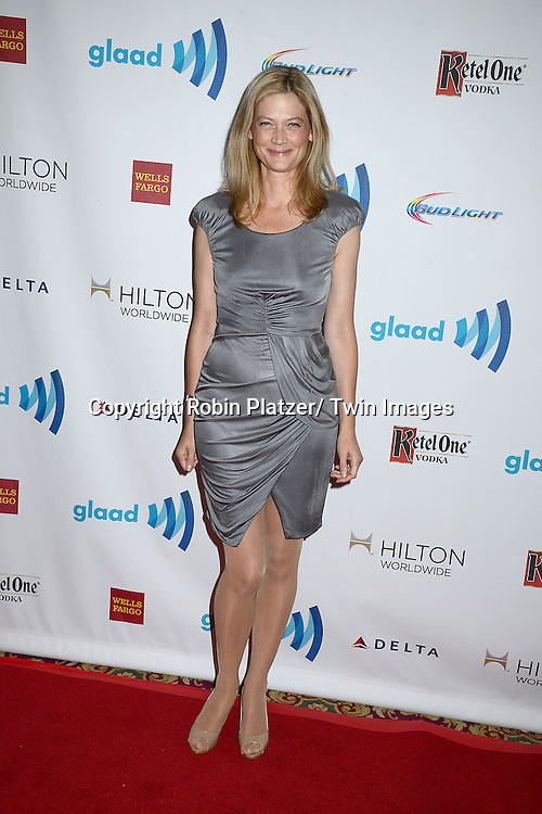 Sophie Ward attends the 25th Annual GLAAD Media Awards at the Waldorf Astoria Hotel in New York City, NY on May 3, 2014.