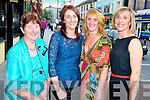 Mary Price, Kenmare, second from right, pictured with Margaret Healy, Eileen Cronin and Mags Healy, Kilgarvan, as she celebrated a special birthday in Paddys Restaurant, Killarney on Saturday night.............................................................................................