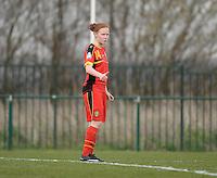 Women U15 : Belgian Red Flames - Nederland :<br /> <br /> Gaelle Durenne<br /> <br /> foto Dirk Vuylsteke / Nikonpro.be